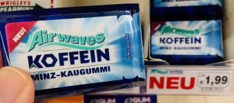 Mars Wrigleys Airwaves Koffein Minz-Kaugummi