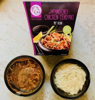 YouCook Japanisches Chicken Teriyaki mit Huhn verpackt