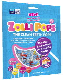 Zollipop The Clean Teeth Pops Tüte