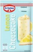 """Dr. Oetker Cremedessert mit der Geschmacksrichtung """"Lemon Cheesecake""""."""