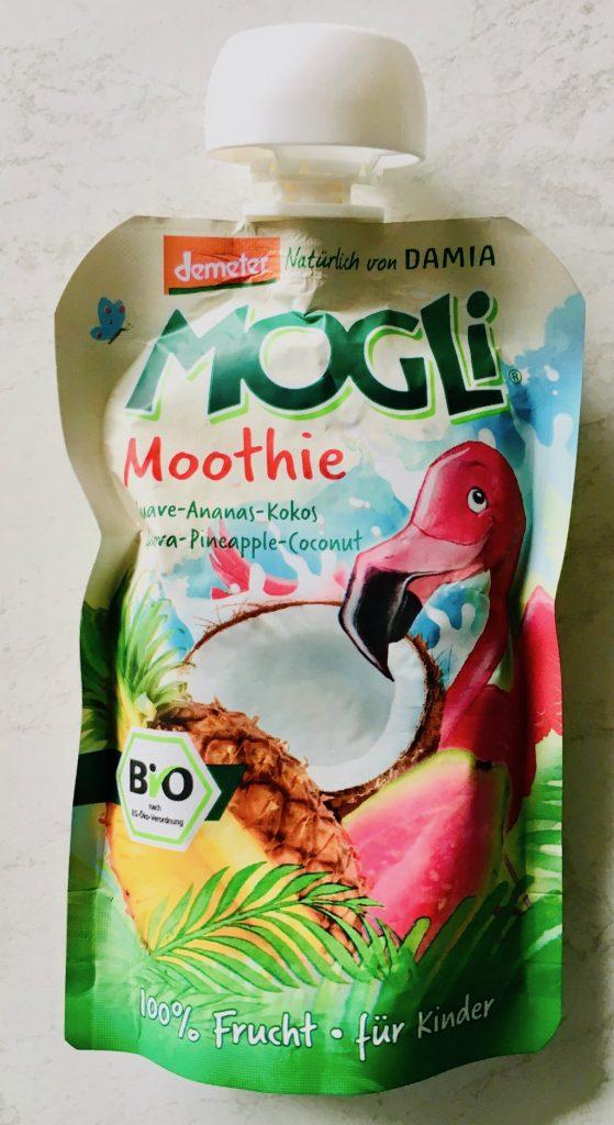 demeter MOGLI Moothie Guave-Ananas-Kokos Flamingo Fruchtdrink für Kinder