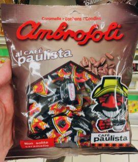Ambrofoli al cafe Paulista Lavazza