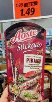 Aoste Stickado Pikanto Salami-Sticks