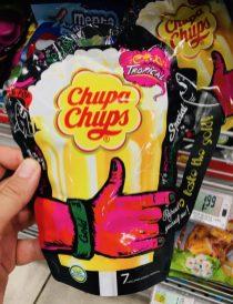 Perfetti van Melle ChupsChups Tropical Taste Bier 7 Lollipops in Bierform