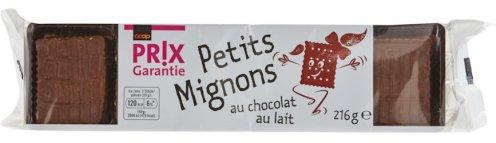 Coop PRIX Garantie Petits Mignons au chcolat au lait 216 Gramm