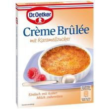 Dr. Oetker Crème Brulée mit Karamelzucker Dessertpulver