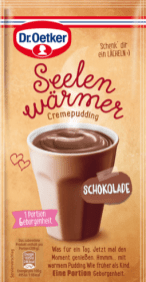 Dr. Oetker Tassendessert Mikrowelle Seelenwärmer Schokolade