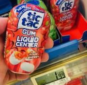 Ferrero tictac Gum Liquid Center Sour Cherry