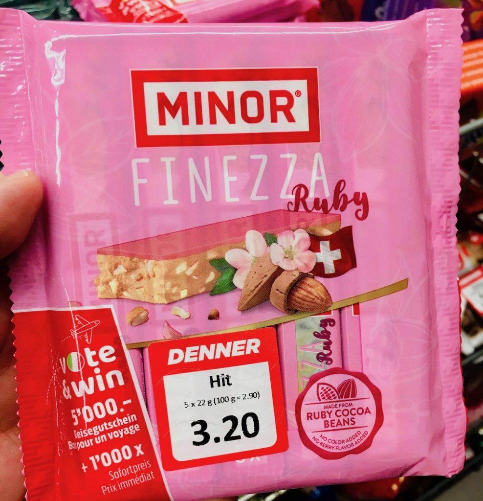 Minor Finezza Ruby Schokolade