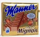 """Manners Mignon Schnitten gibt es mindestens seit den 1970er Jahren - weiter kann es selbst Manner nicht mehr zurück verfolgen. Die """"Gold Mignon"""" gab es bis 2011."""
