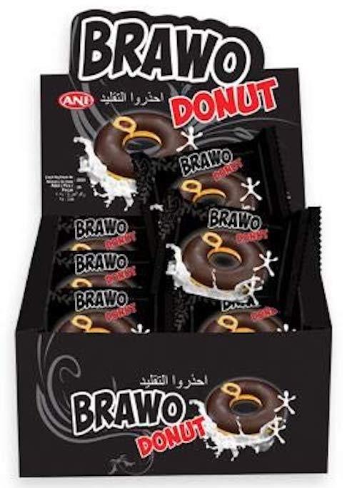 ANE Brawo Donut Gebäck einzelverpackt