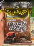 """Auch in Asien sind Kaffeebonbons beliebt - diese """"Esprezzo - Black Coffee Candy"""" von Agel fand ich in einem Berlinr Asiashop."""