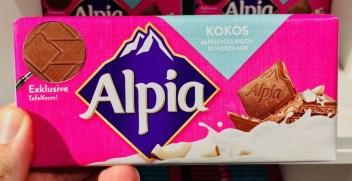 Alpia Kokos 100 Gramm Tafelschokolade Baronie