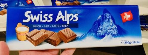 Alprose Tafelschokolade Swiss Alps Vollmilch 300 Gramm