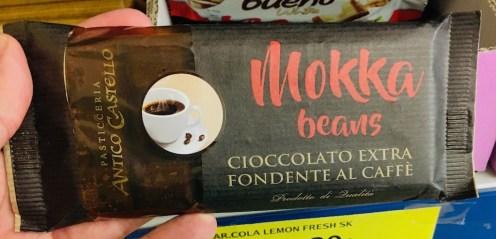 Antico Castello Mokka beans Schokoladentafel
