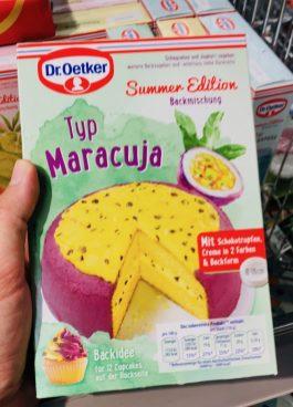 Dr. Oetker Backmischung Summer Edition Typ Maracuja
