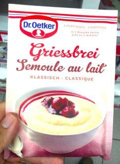 Dr. Oetker Griessbrei Pulver Schweiz