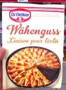 Dr. Oetker Wähenguss Backhilfe Schweiz