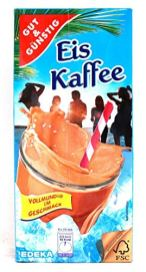 EDEKA Gut+Günstig Eis Kaffee Tetra