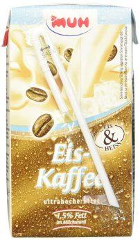MUH Eis-Kaffee im Trinkkarton mit Strohhalm