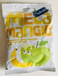 Melinda Mela Mangio Snack aus Apfel und Banane