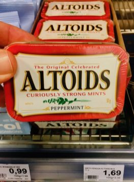 Altoids Curiously Strong Mints Peppermint