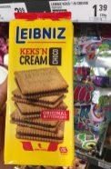 Bahlsen Leibnitz KeksNcream Choco Lasche