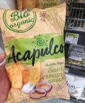 Bio Organic Acapulco Sour Cream Onion Toritlla Chips 125 Gramm