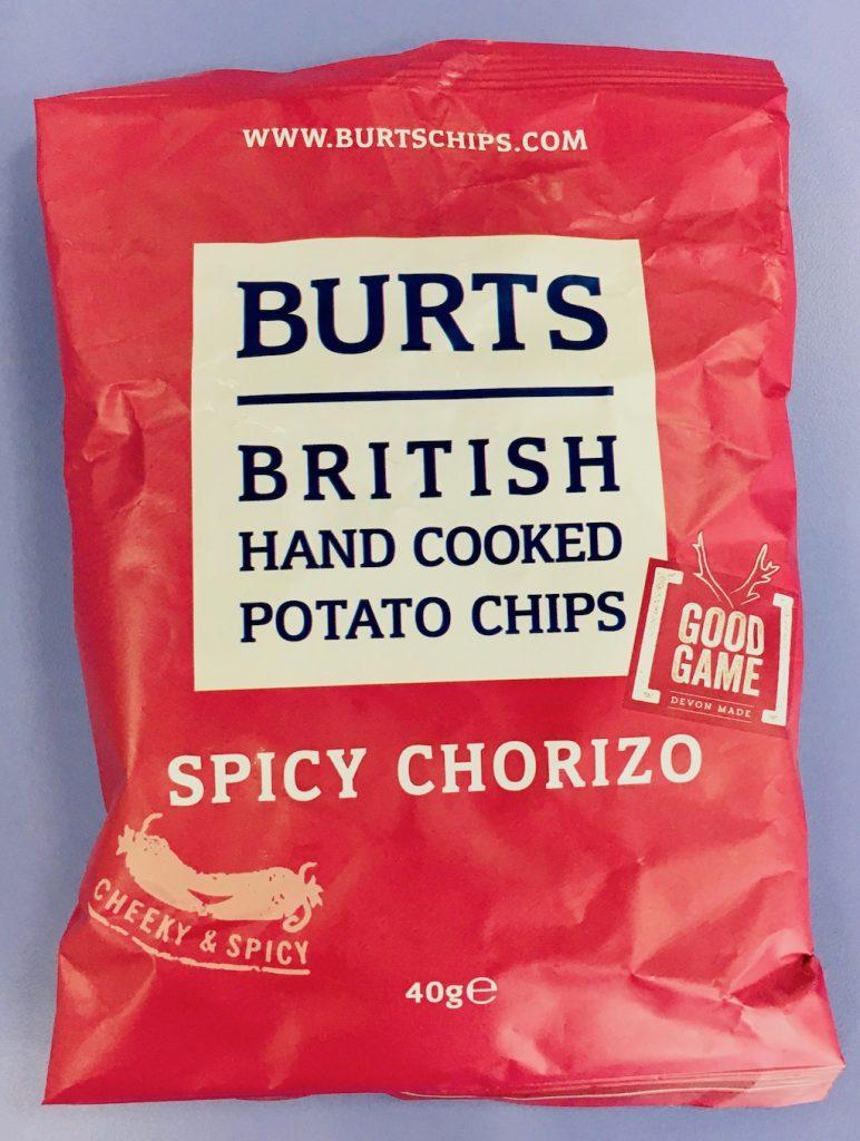 Burts Kartoffelchips Spicy Chorizo 40 Gramm