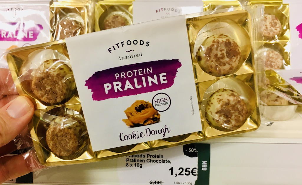 FitFoods inspired Protein Praline Cookie Dough High Protein