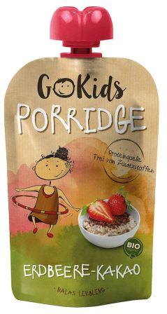 GoKids Bio-Porridge Erdbeere-Kakao Quetschtube