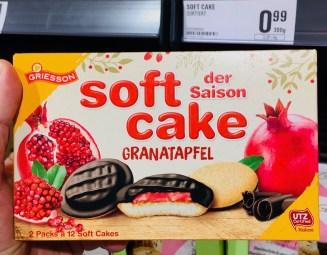 Griesson softcake der Saison Granatapfel (2019)