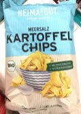 Heimatgut Kartoffelchips mit Meersalz Bio