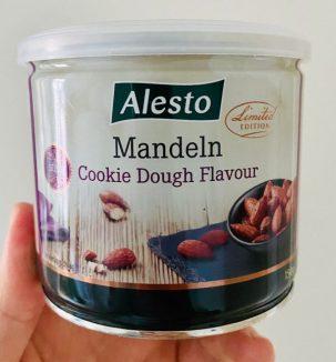 Lidl Alesto Mandeln Cookie Dough Flavour 150G Dose