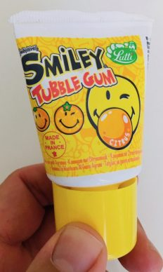 Lutti Smiley Tubble Gum Citrus 35 Gramm Made in France