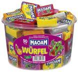 Maoam Würfel 50 Stück Runddose