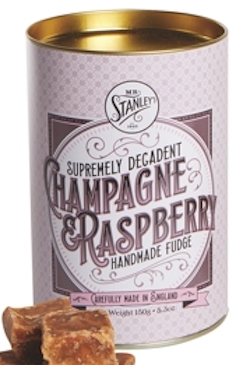 Mrs Stanleys Champagne Rasberry Fudge