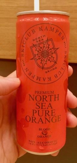 North Sea Pur Orange Blutorange Getränkedose