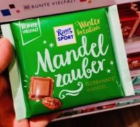 Ritter Sport Mandelzauber Winteredition Gebrannte Mandel