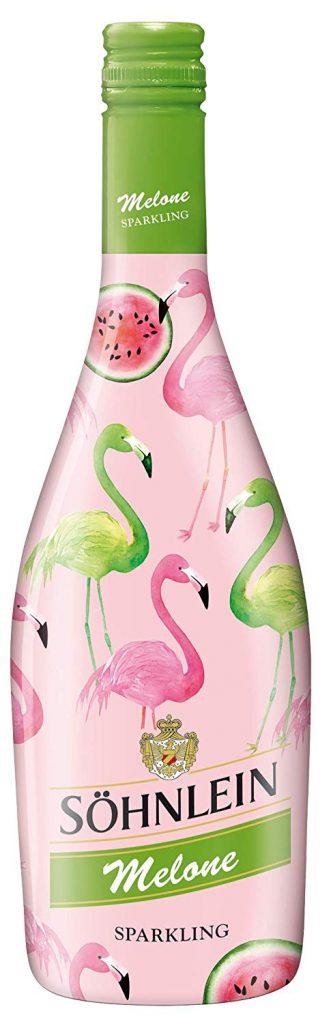 Söhnlein Melone Sparkling Flamingo in rosa und grün