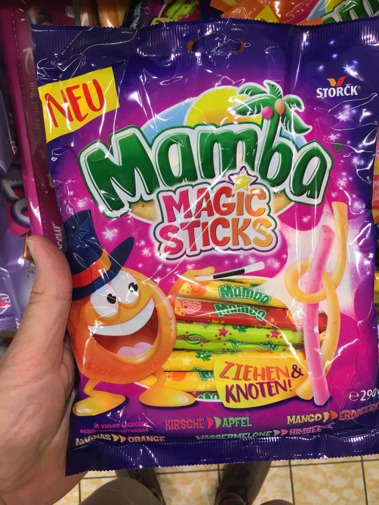 Storck Mamba Magic Sticks ziehen und Knoten 290 Gramm