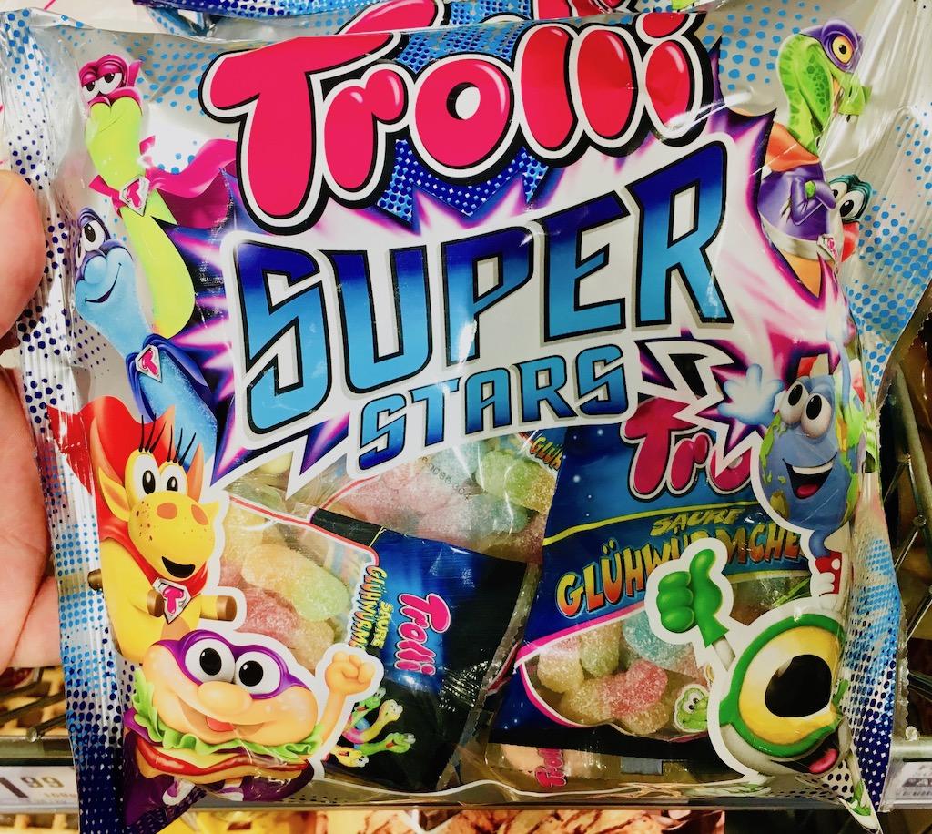 Trolli Super Stars Minimix-Beutel