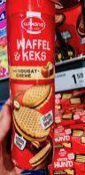 Wikana Waffel+Keks mit Nougatcreme Doppelkeks 240 Gramm