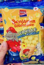XOX Benjamin Blümchen Vanille-Mais-Kugeln