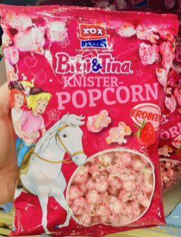 XOX Bibi&Tina Knister-Popcorn Erdbeere