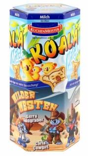 """Koala Milch der Motivserie """"Wilder Westen"""""""