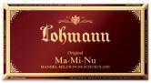 Lohamm-Schokolade der Sorte Ma-Mi-Nu (mandel-Milch-Nuss)...