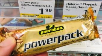 Peeroton Powerpack Haferflockenriegel mit Schoko-Splits