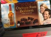 Übersee Rum Bohnen dunkle Schokolade 500 Gramm