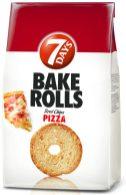 7days BakeRolls mit Pizza-Geschmack